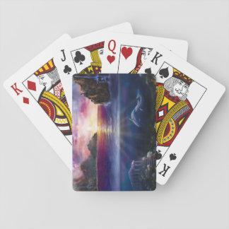 H037 Scorpio Sunset Playing Cards