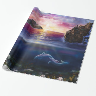 H037 Scorpio Sunset Wrapping Paper