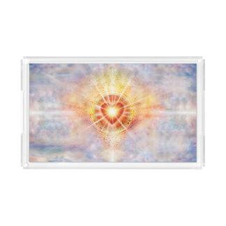 H038 Celestial Heart Acrylic Tray