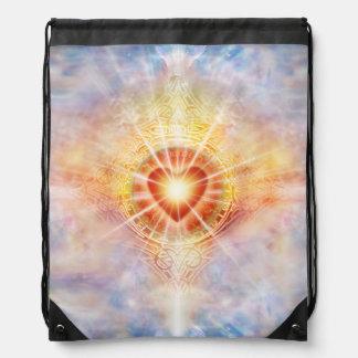 H038 Celestial Heart Drawstring Bag