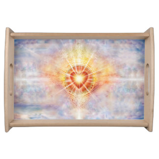 H038 Celestial Heart Serving Tray