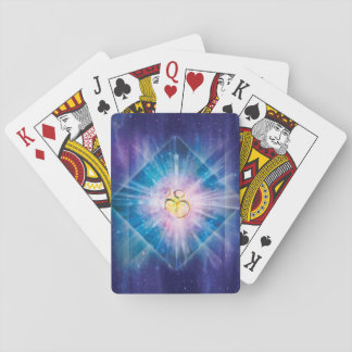 H039 Om Space Cube Playing Cards