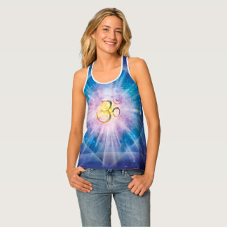 H039 Om Space Cube Tank Top