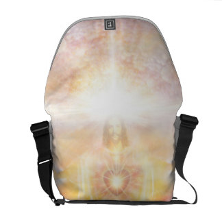 H041 Jesus Heart Commuter Bag
