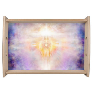 H041 Jesus Heart Serving Tray