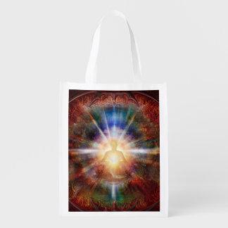 H047 Batleth Meditator 9 Grocery Bag