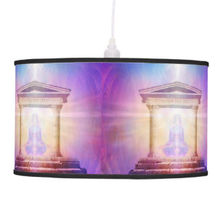 H049 Know Thy Self Magenta Pendant Lamp