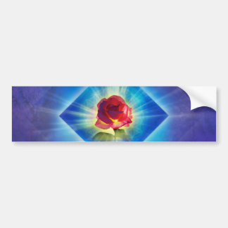 H053 Forgiveness Day Rose Bumper Sticker