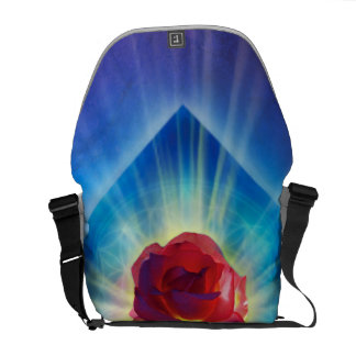 H053 Forgiveness Day Rose Commuter Bags