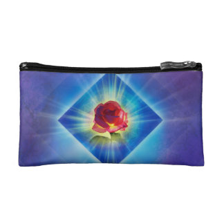 H053 Forgiveness Day Rose Cosmetic Bag
