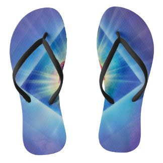 H053 Forgiveness Day Rose Flip Flops