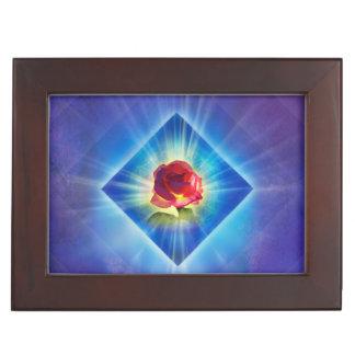 H053 Forgiveness Day Rose Keepsake Box