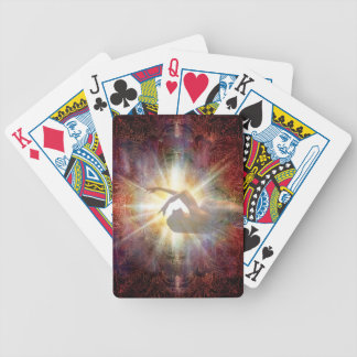 H058 Jacqui Red Horizon Bicycle Playing Cards