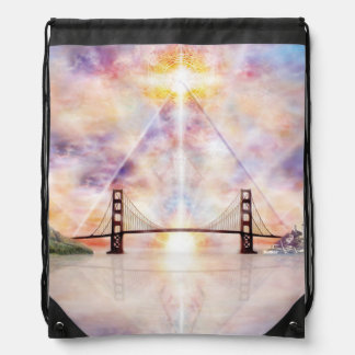 H073 New Horizon Drawstring Bag