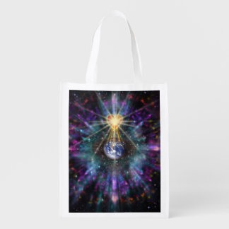 H077 One Earth One Heart 2017 Grocery Bag