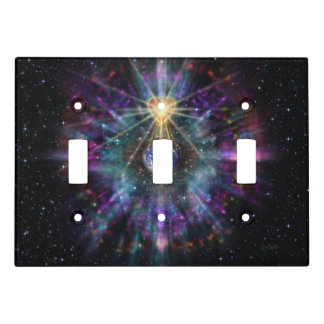 H077 One Earth One Heart 2017 Light Switch Cover
