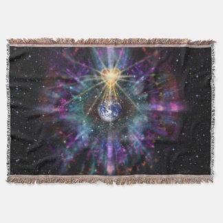 H077 One Earth One Heart 2017 Throw Blanket