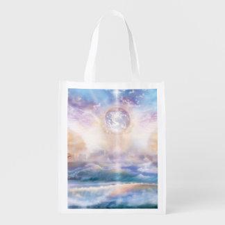 H079 Enchanted Wings Reusable Grocery Bag