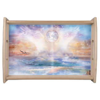 H079 Enchanted Wings Serving Tray