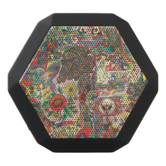 H081 Psychedelic 1969 Black Bluetooth Speaker