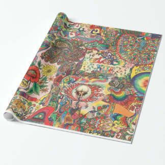 H081 Psychedelic 1969 Wrapping Paper
