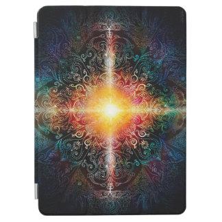 H103 Heart Mandala Colors 3 iPad Air Cover