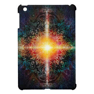 H103 Heart Mandala Colors 3 iPad Mini Cover
