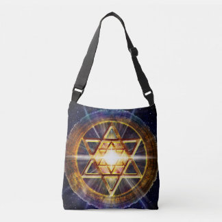 H109 Stars of David 2013 Crossbody Bag