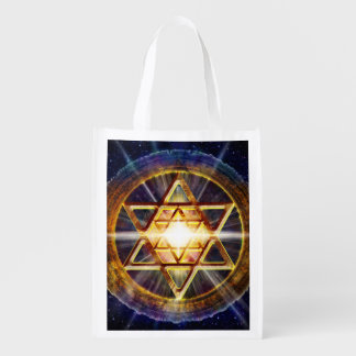 H109 Stars of David 2013 Reusable Grocery Bag