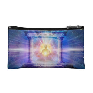 H110 Know Thy Heart Temple Night Cosmetic Bag