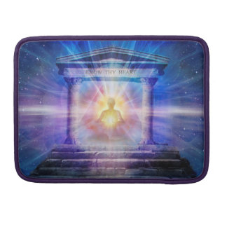 H110 Know Thy Heart Temple Night Sleeve For MacBooks