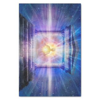 H110 Know Thy Heart Temple Night Tissue Paper