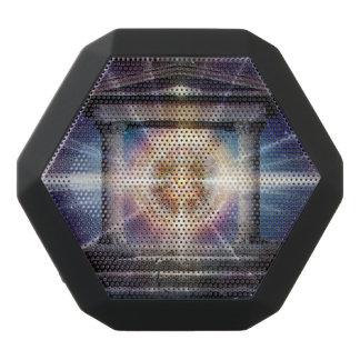 H111 Heart Temple Night Black Bluetooth Speaker