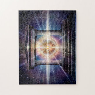 H111 Heart Temple Night Jigsaw Puzzle