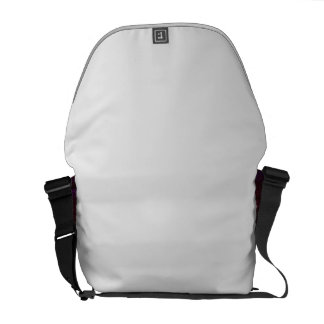 H113 Heart in Star Red Commuter Bags