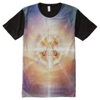 H114 Star Triangle Orb All-Over-Print T-Shirt