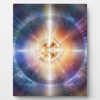 H114 Star Triangle Orb Plaque