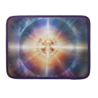 H114 Star Triangle Orb Sleeve For MacBook Pro