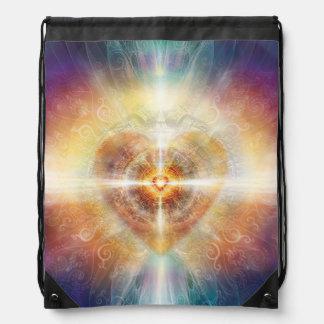 H115 Beautiful Heart 2014 Drawstring Bag