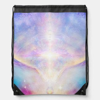 H117 Adele Angel Top Drawstring Bag