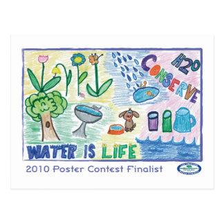 H2O Conserve Postcard