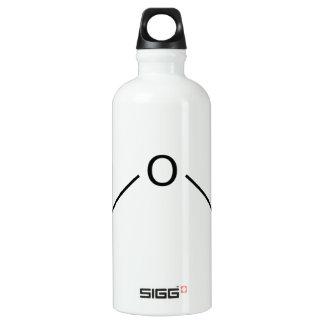 H2O Molecule Water Bottle
