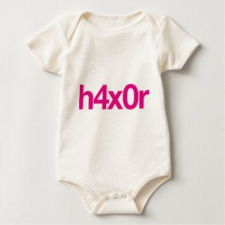 h4x0r baby bodysuit