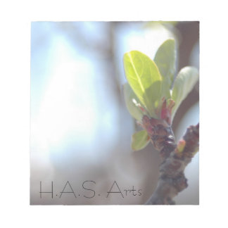 H.A.S. Arts Spring Notepad