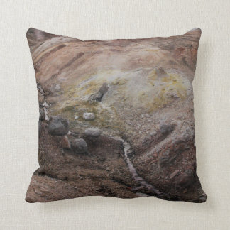 H.A.S. Arts Yellowstone Sulphur Springs pillow