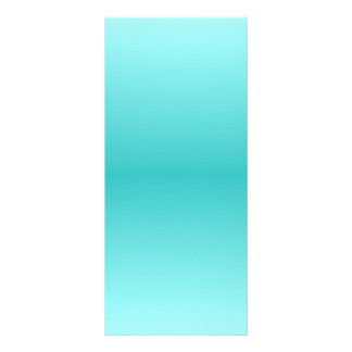 H Bi-Linear Gradient - Light Cyan and Turquoise Rack Card Template