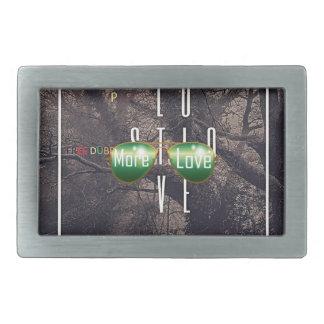 H EDZUNI: PEPASEED More Love Single Album Belt Buckle