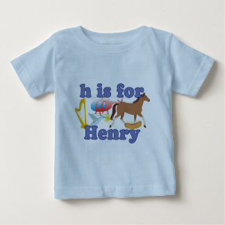 H is for Henry Baby T-Shirt
