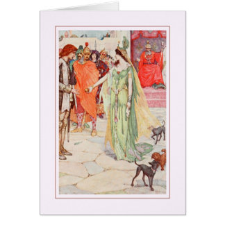 H J Ford Greeting Card
