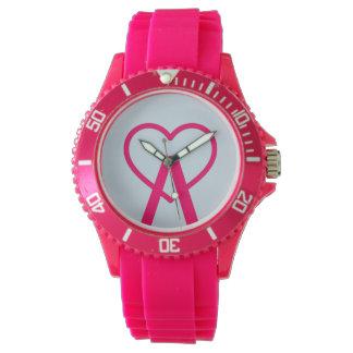 H&L Pink A~Heart Watch